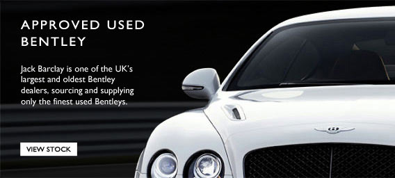 Jack Barclays is one of the UK's largest and oldest Bentley dealers, sourcing and supplying only the finest used Bentleys.